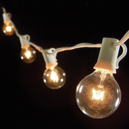 globe outdoor string lights photo - 1