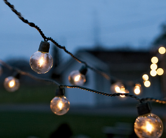 globe outdoor string lights photo - 7