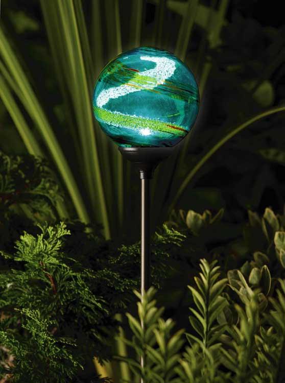 globe solar lights outdoor photo - 3
