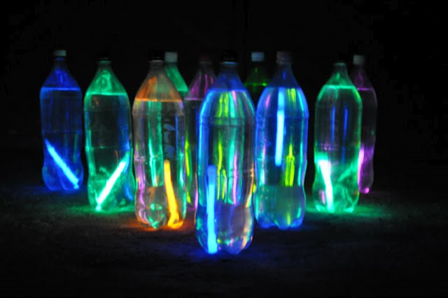 glowing night light ball lamp photo - 6