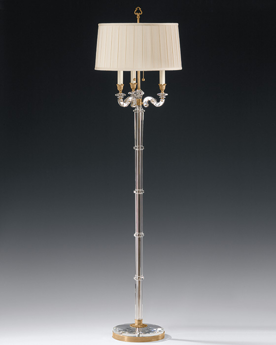 gold floor lamps photo - 3