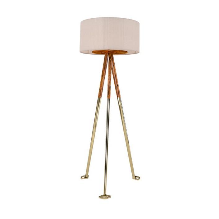 gold floor lamps photo - 8