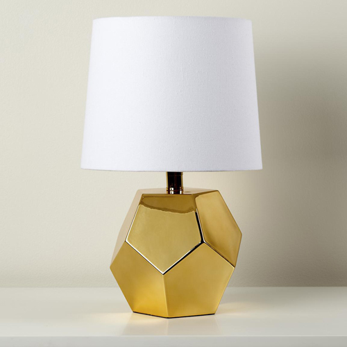 gold lamps photo - 2