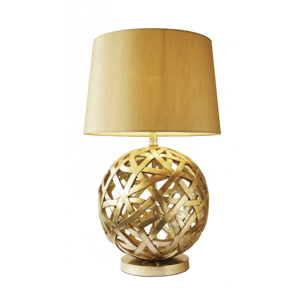 gold table lamps photo - 1