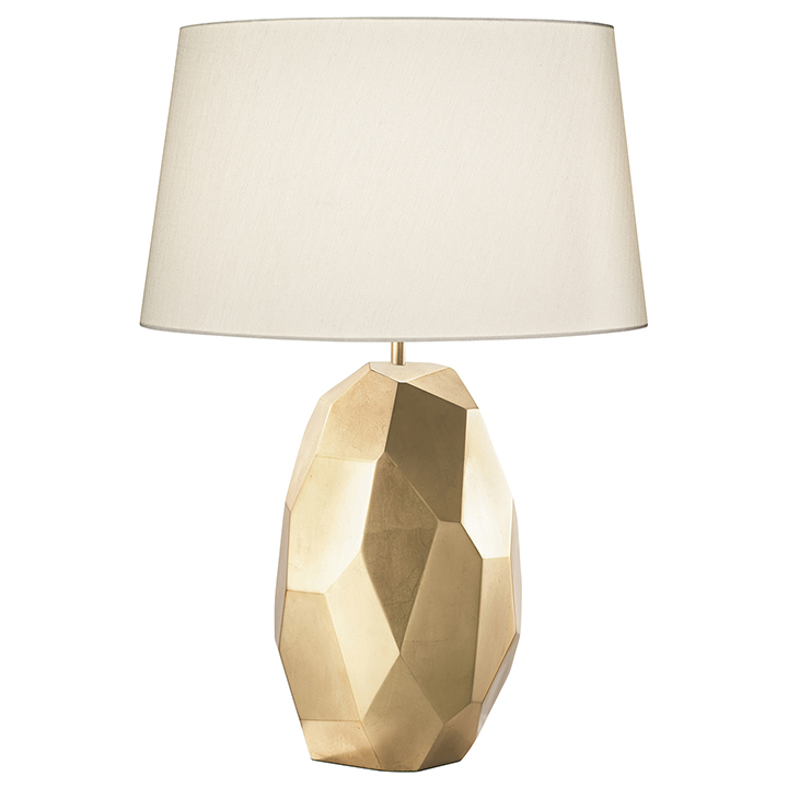 gold table lamps photo - 4