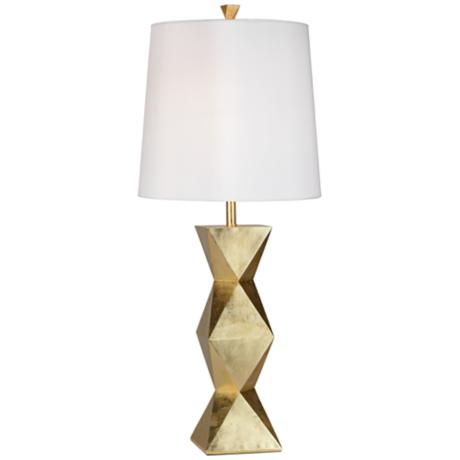 gold table lamps photo - 6