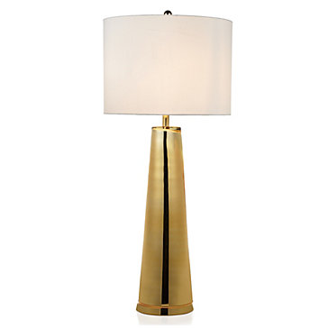 gold table lamps photo - 7