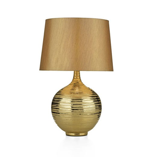 gold table lamps photo - 8