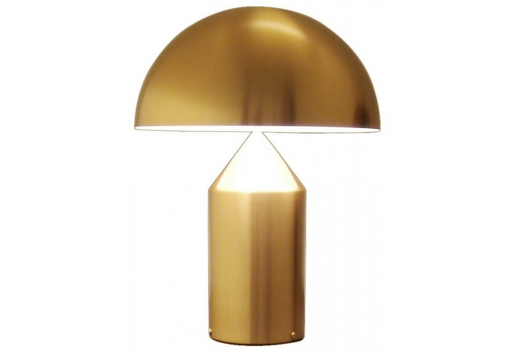 gold table lamps photo - 9