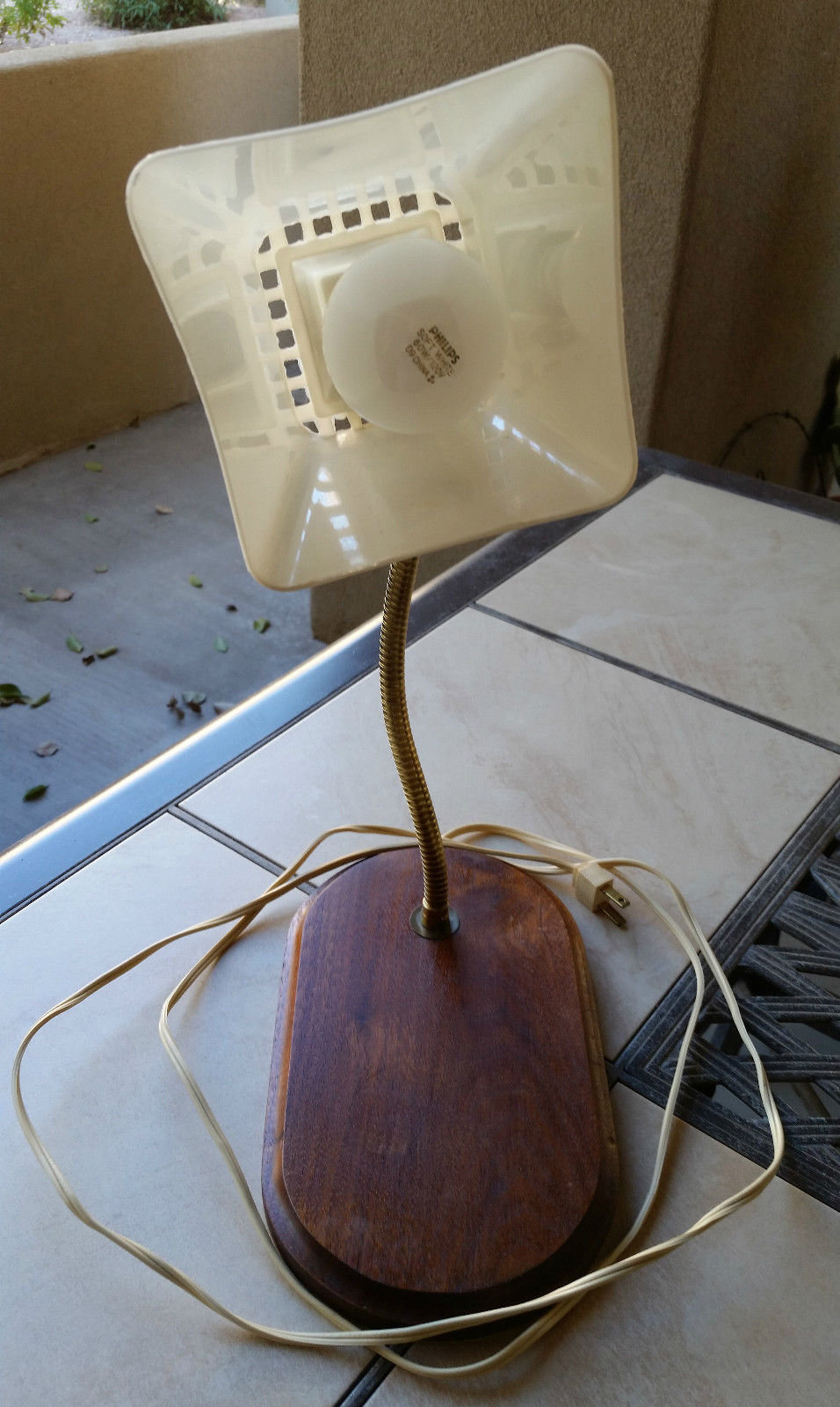 gooseneck table lamp photo - 6