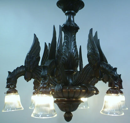 gothic ceiling lights photo - 3