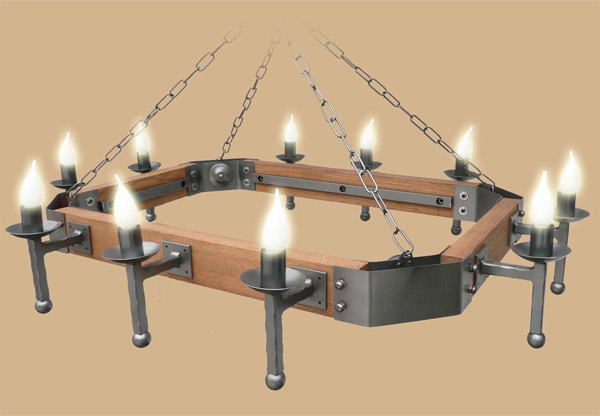 gothic ceiling lights photo - 8