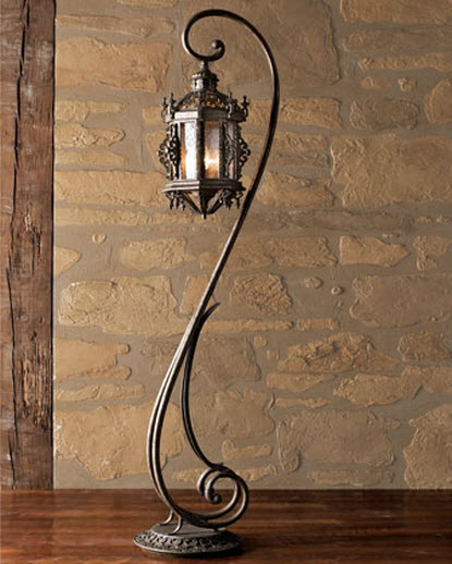 gothic floor lamp photo - 1