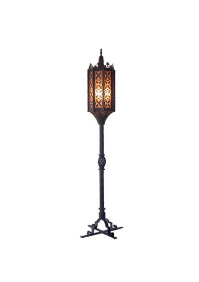 gothic floor lamp photo - 2