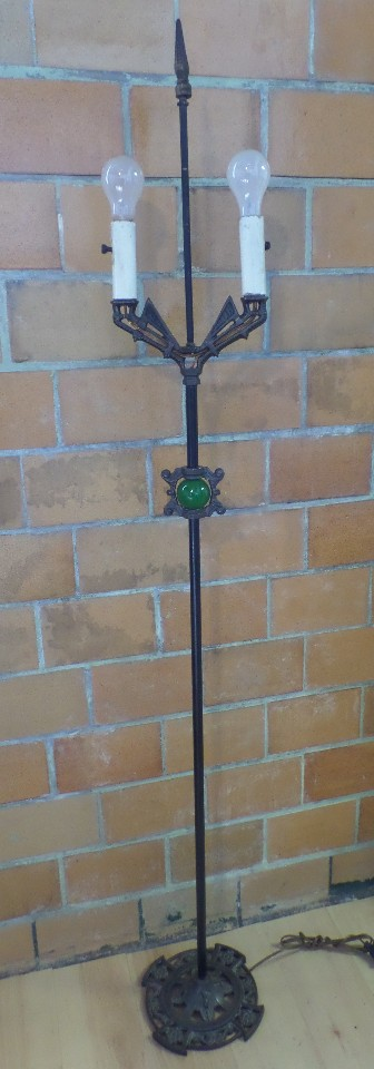 gothic floor lamp photo - 8