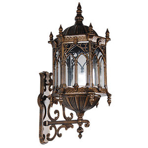 gothic outdoor lighting photo - 2
