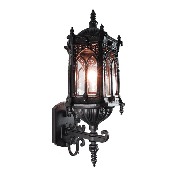 gothic outdoor lighting photo - 3