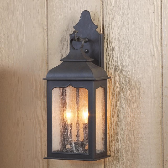 gothic outdoor lighting photo - 4