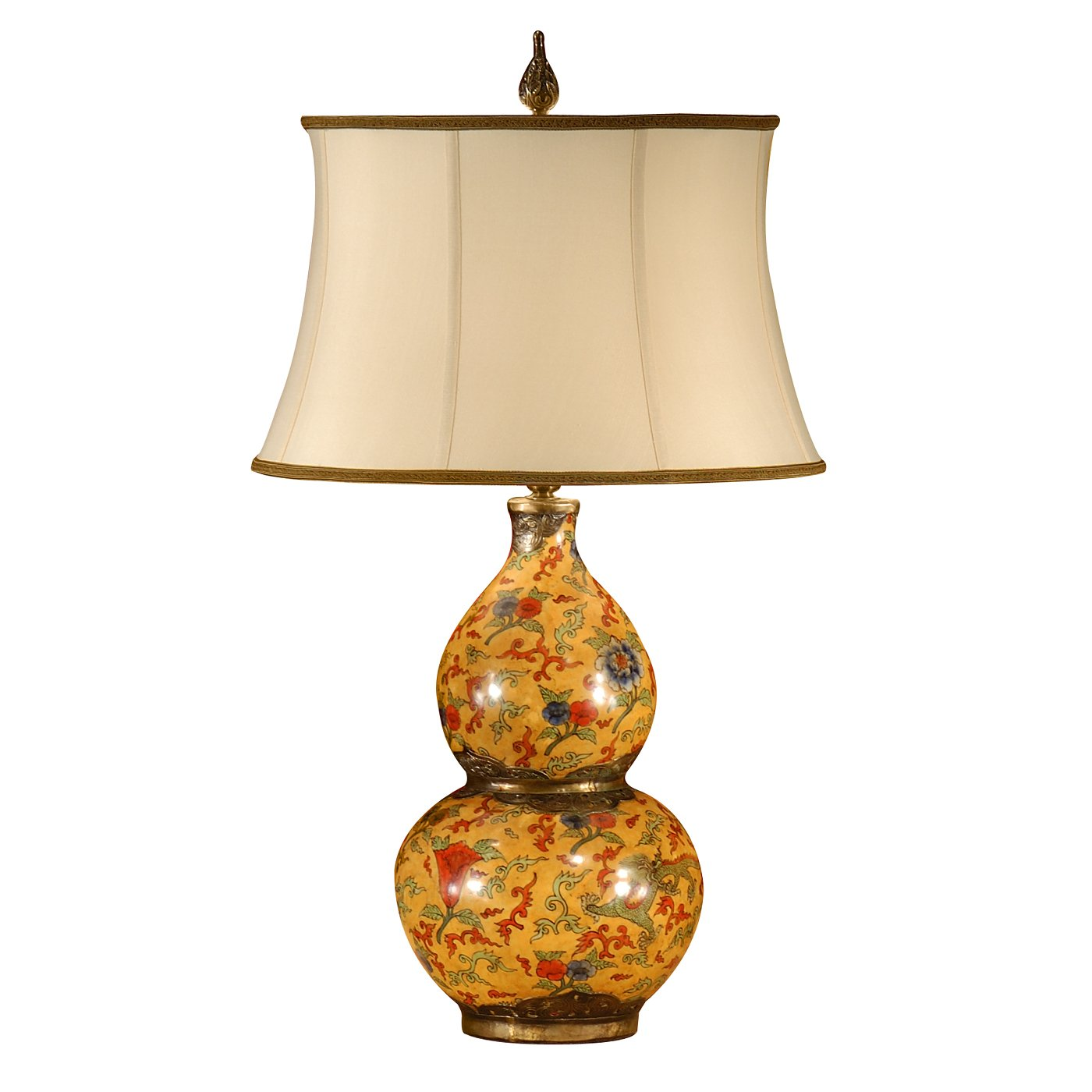 gourd table lamp photo - 5