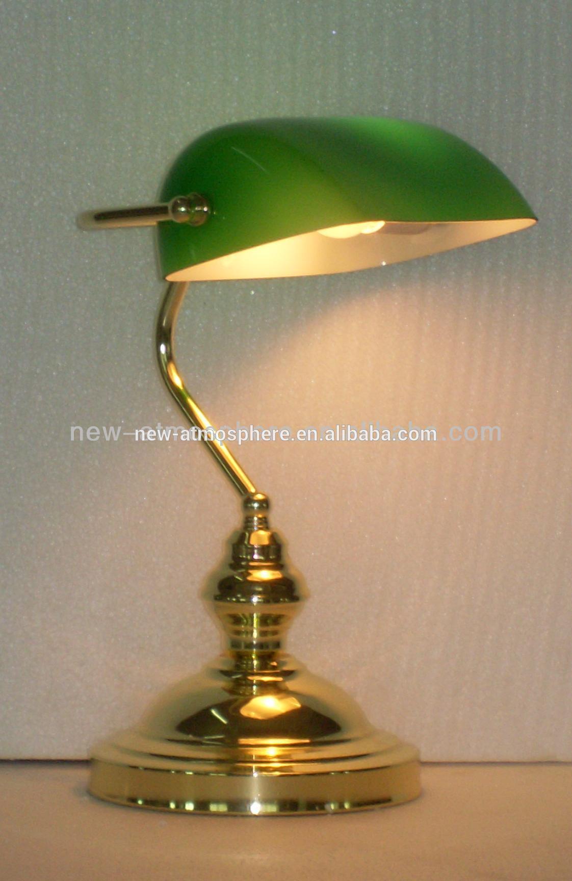 Green bankers desk lamp – Green Desk Lamps