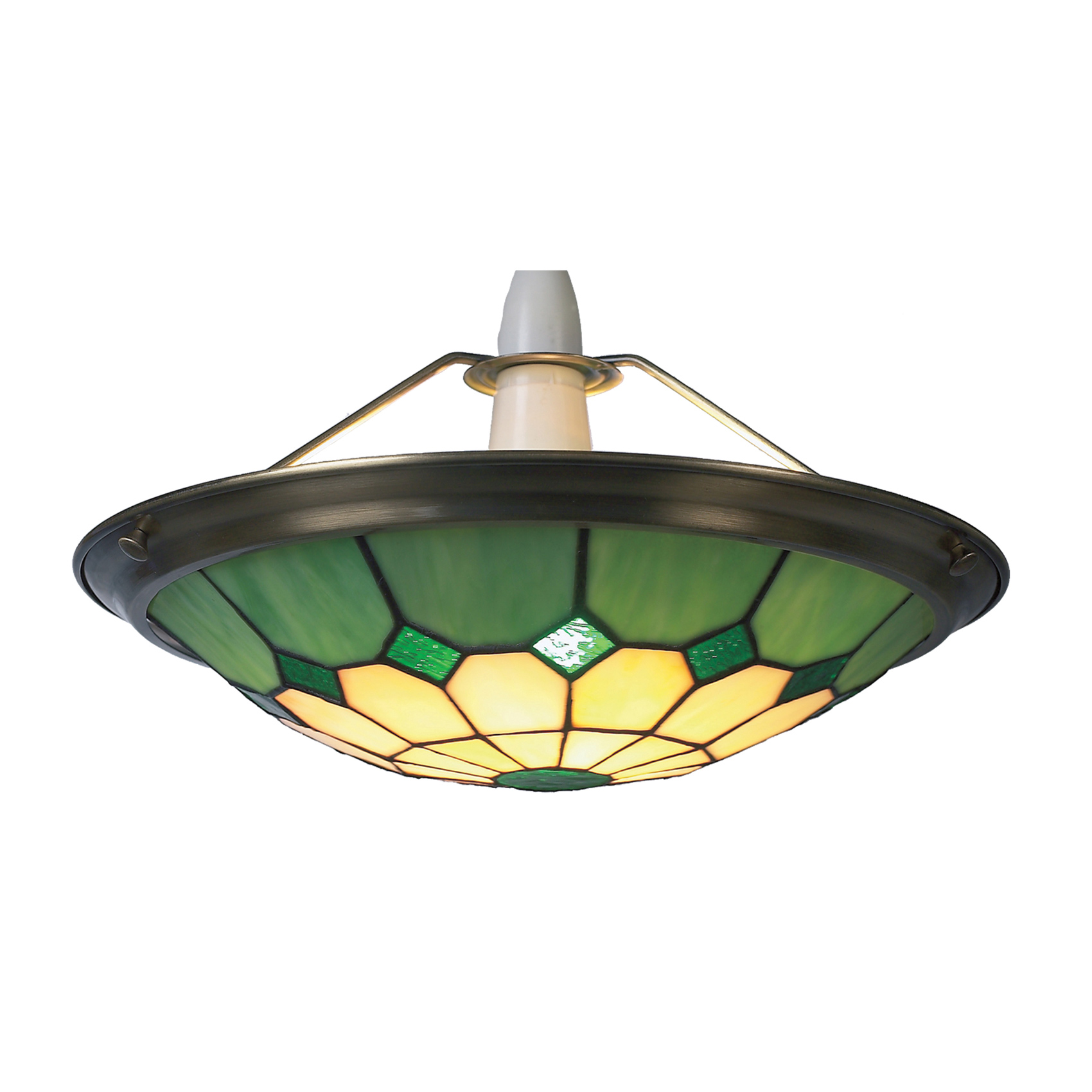 Green Ceiling Light Shades: green ceiling light shades photo - 2,Lighting