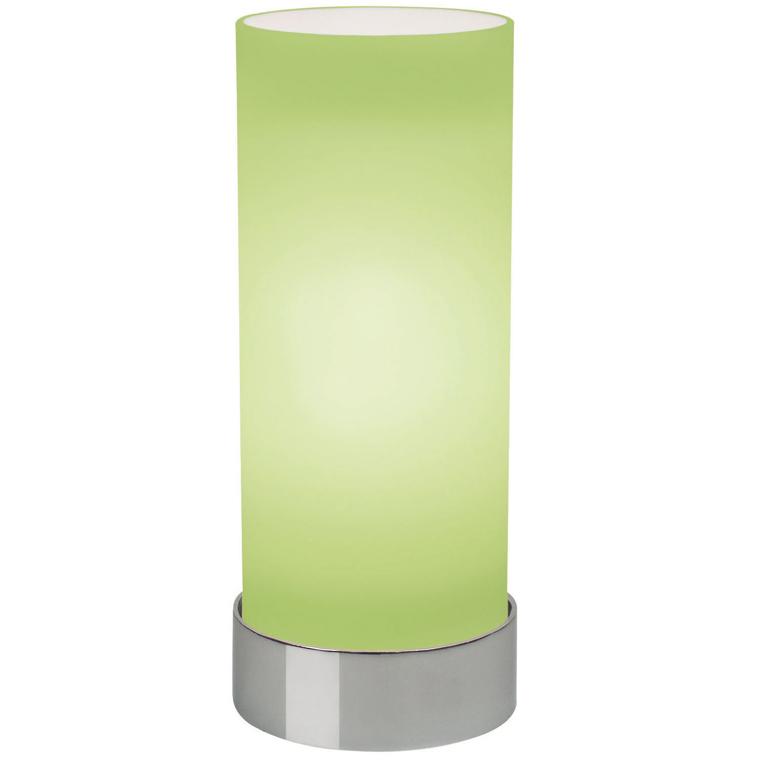 green glass table lamps photo - 1