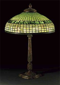 green glass table lamps photo - 4