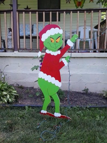 Grinch Christmas Lights Outdoor Rekindle Memories For