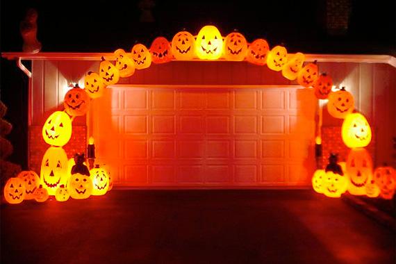 halloween lights outdoor photo - 4