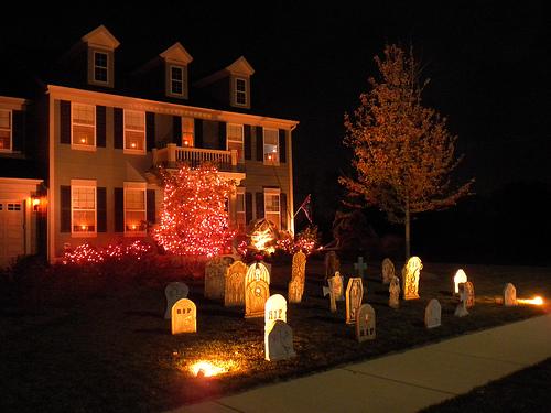 halloween lights outdoor photo - 5
