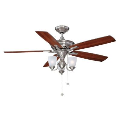 hampton bay 4 light ceiling fan photo - 5