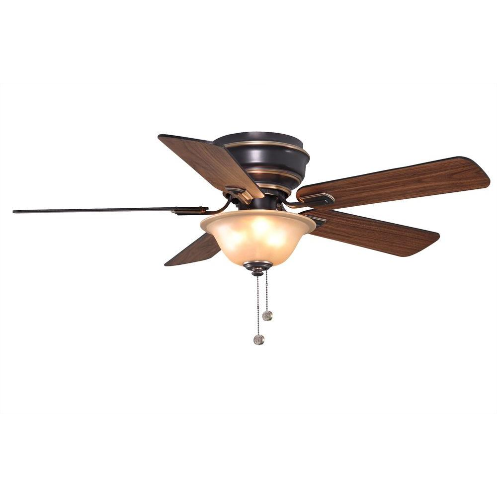 hampton bay bronze ceiling fan photo - 10