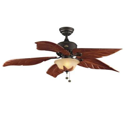hampton bay bronze ceiling fan photo - 2