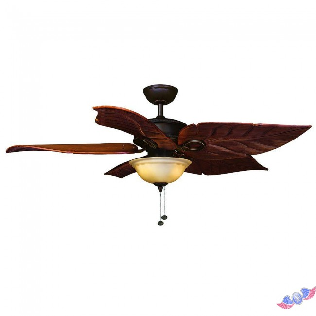hampton bay bronze ceiling fan photo - 3