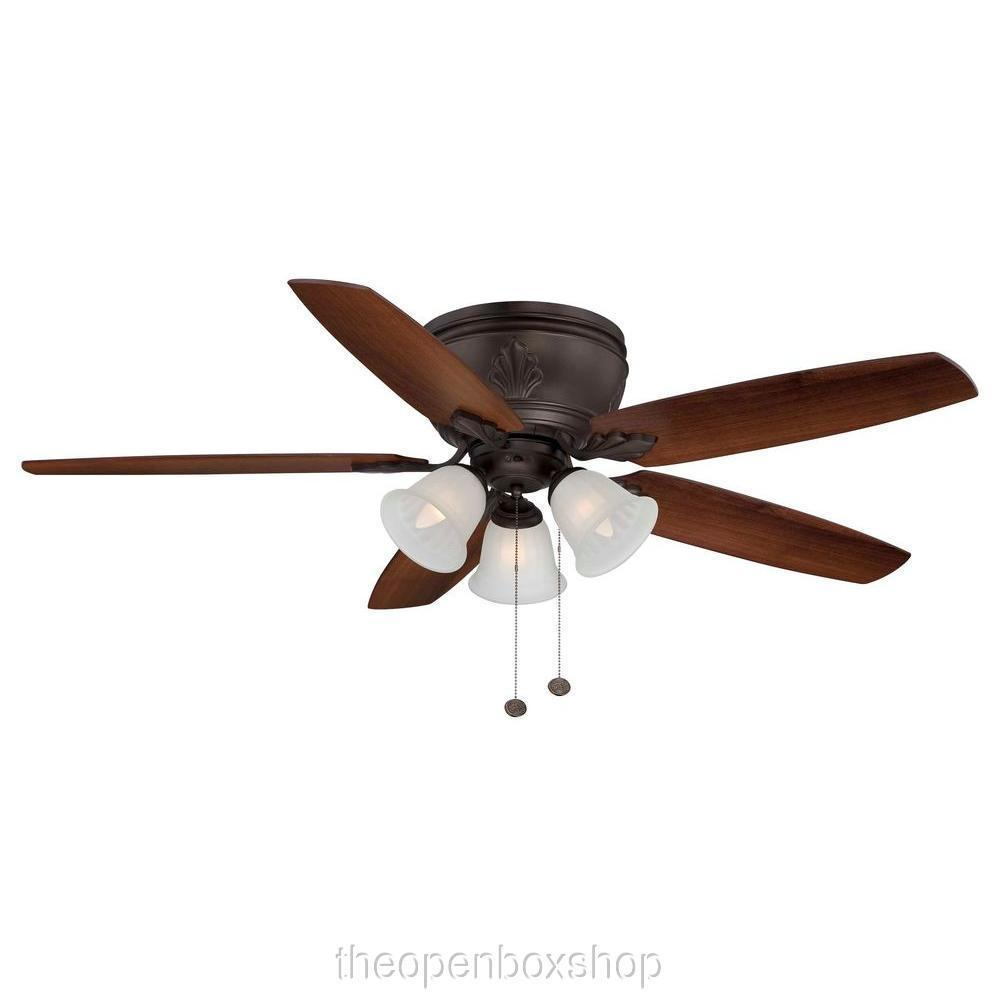 hampton bay bronze ceiling fan photo - 4