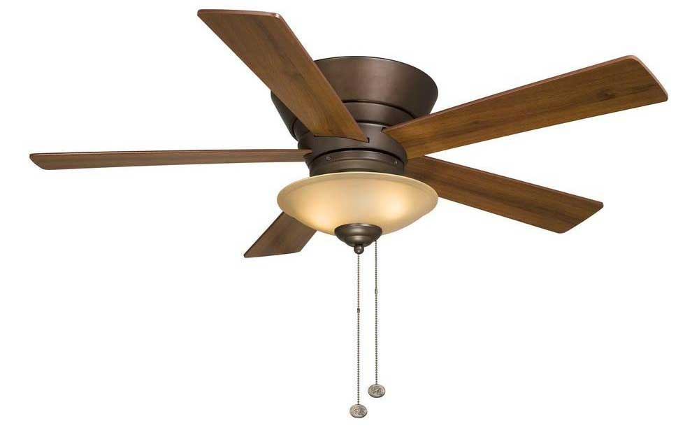 hampton bay bronze ceiling fan photo - 6