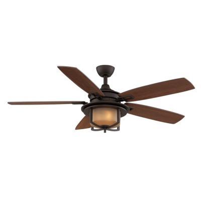 hampton bay bronze ceiling fan photo - 7