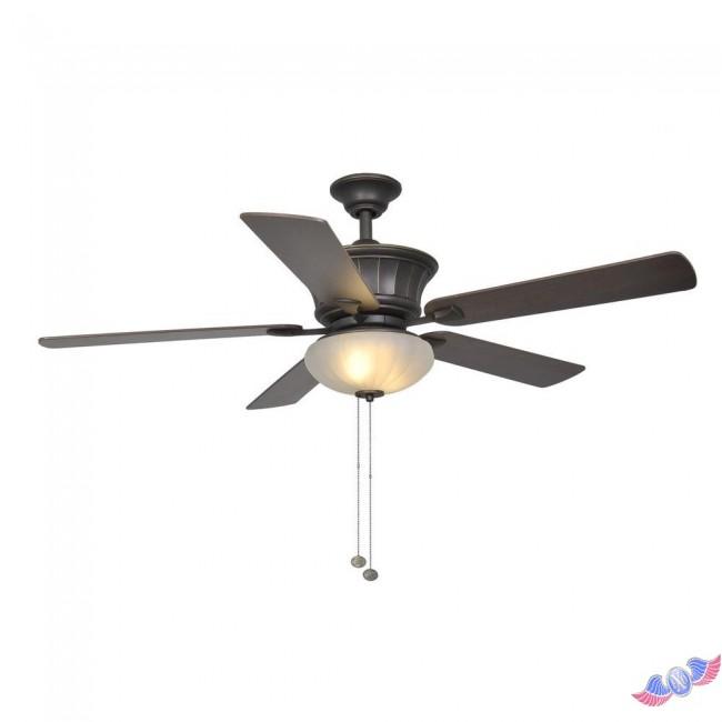 hampton bay bronze ceiling fan photo - 8