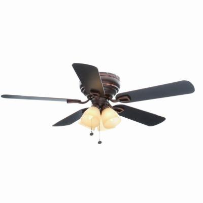 hampton bay bronze ceiling fan photo - 9