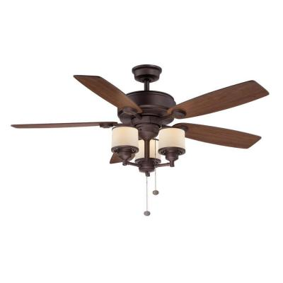hampton bay ceiling fan globe photo - 7