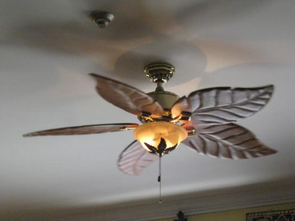 hampton bay ceiling fan light photo - 5