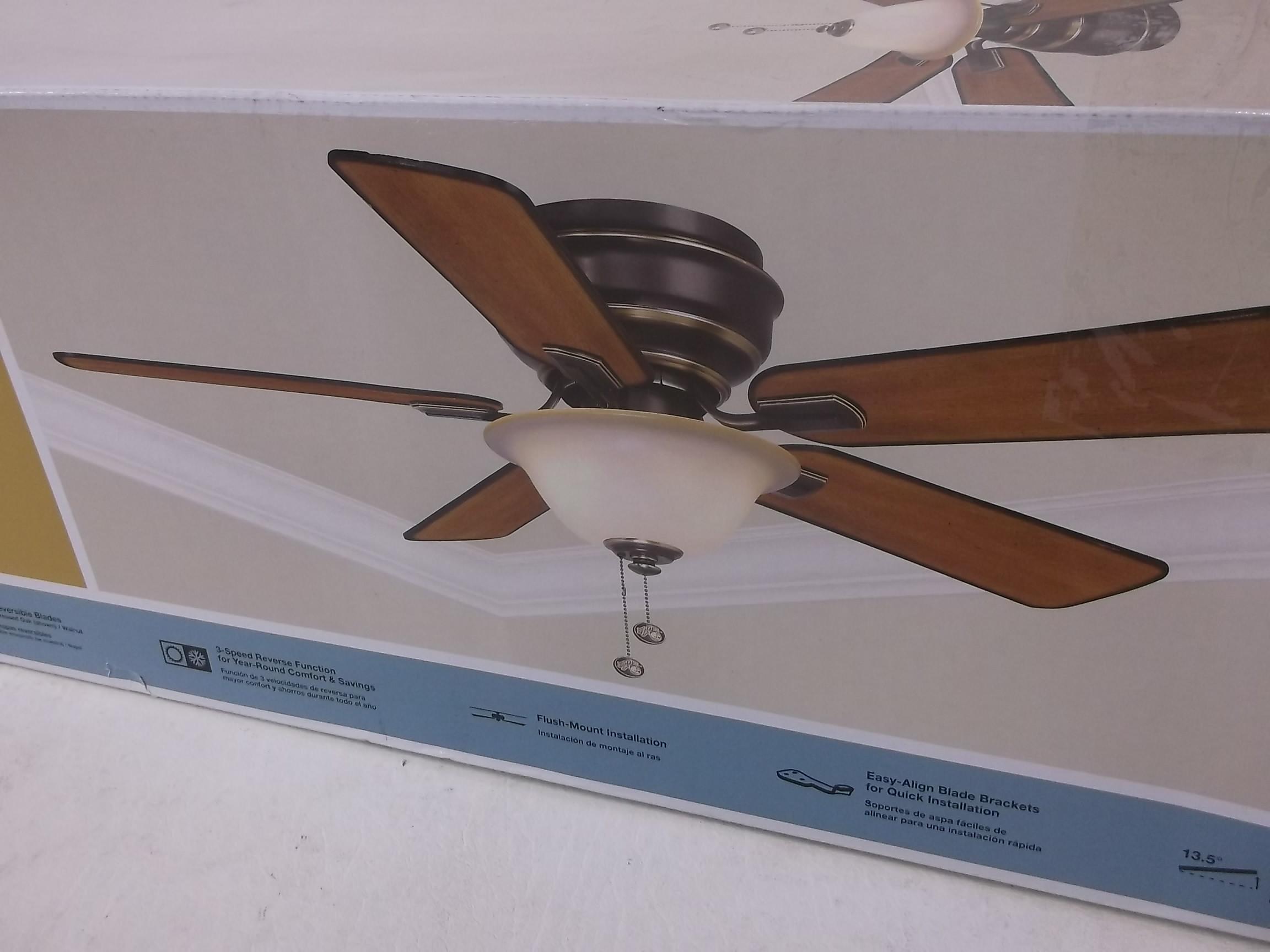 hampton bay hawkins ceiling fan photo - 7