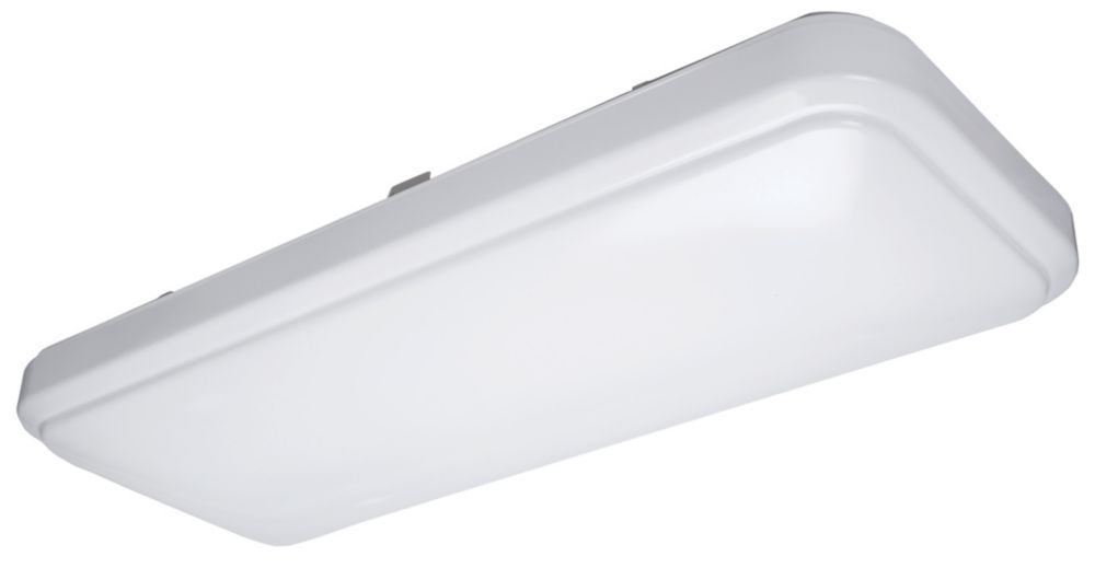 hampton bay led ceiling light photo - 5