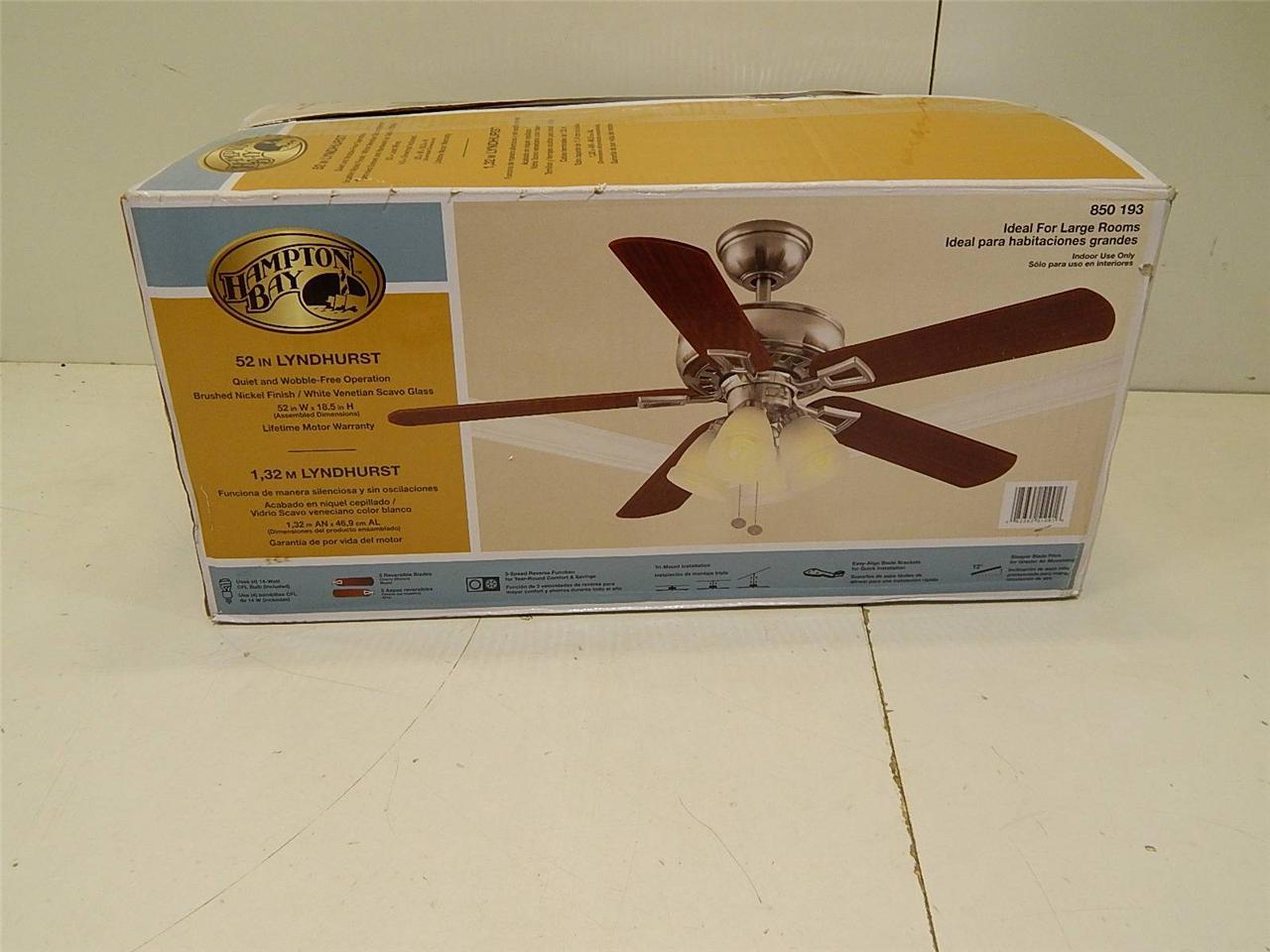 hampton bay lyndhurst ceiling fan photo - 10