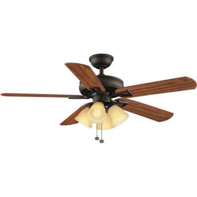 hampton bay nassau ceiling fan photo - 9