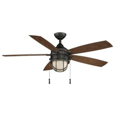 hampton bay outdoor ceiling fans photo - 10