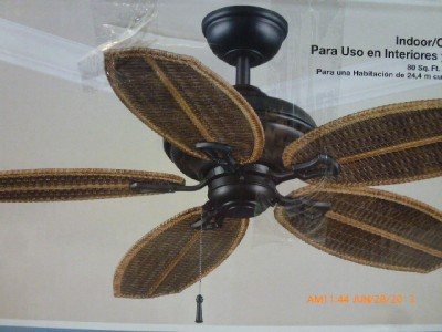 hampton bay palm beach ceiling fan photo - 9
