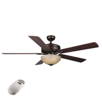 hampton bay remote ceiling fan photo - 6