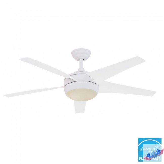 hampton bay white ceiling fan photo - 6