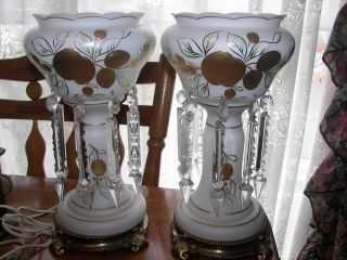 hand painted lamps photo - 10